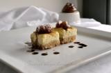 Mini cheesecake al Gorgonzola dop, Fichi rosa di Pisticci caramellati  e Ficotto